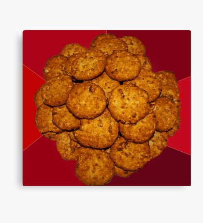 Yummy ANZAC Biscuits. Canvas Print