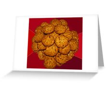 Yummy ANZAC Biscuits. Greeting Card