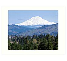 Mt. Adams Washington State Art Print