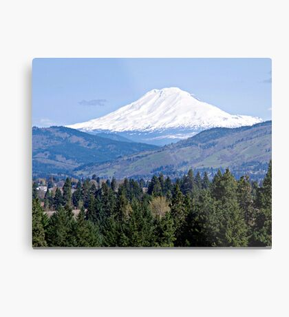 Mt. Adams Washington State Metal Print
