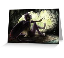 Gryphon's Cave Greeting Card
