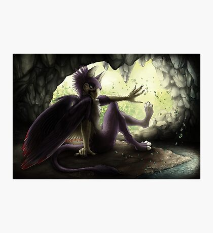 Gryphon's Cave Photographic Print