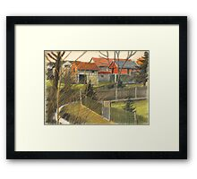 in den Gaerten Framed Print