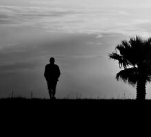 A man that walks alone by luckylarue