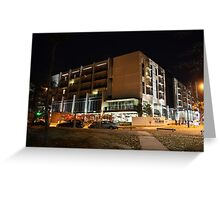 Hotel Realm, Canberra (by night) Greeting Card