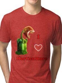 I Love Horticulture Mario Tri-blend T-Shirt