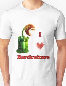 I Love Horticulture Mario T-Shirt