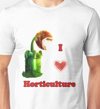 I Love Horticulture Mario Unisex T-Shirt