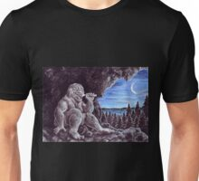 Troll sat alone on his seat of stone Unisex T-Shirt