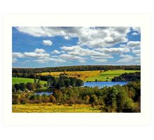New York Countryside Landscape Art Print