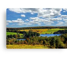 New York Countryside Landscape Canvas Print