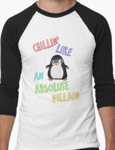 Chillin' Like An Absolute Villain Men's Baseball ¾ T-Shirt