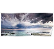 Cottesloe Clouds Poster