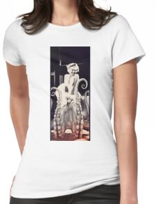 Marilyn had a secret. Womens Fitted T-Shirt