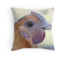 Who You Callin' Chicken?? Throw Pillow