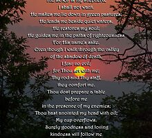 Psalm 23 Prayer by Christina Rollo