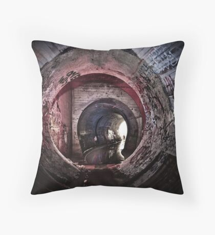 Kat In The Room Throw Pillow