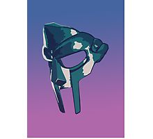 MF DOOM Mask Photographic Print