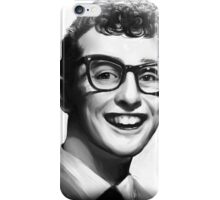 Buddy Holly Portrait iPhone Case/Skin