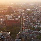 Berlin from Fernsehturm by Noukka Signe