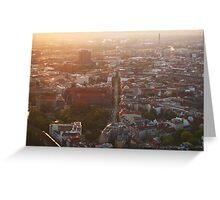 Berlin from Fernsehturm Greeting Card