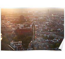 Berlin from Fernsehturm Poster