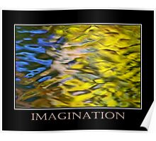 Imagination Inspirational Art Poster