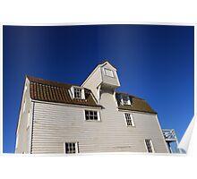 Tide Mill Sky Shot Poster