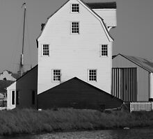 Tide Mill Side View by TonyGeary