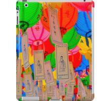 Gathering Lanterns iPad Case/Skin