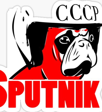 Sputnik Sticker