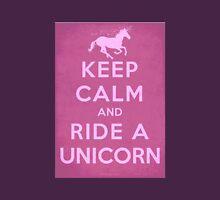 Keep Calm And Ride A Unicorn Unisex T-Shirt