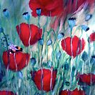 """Red Poppies"" by Gabriella Nilsson"