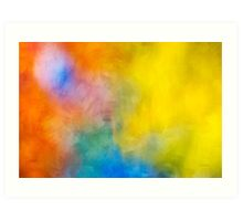 Colorful Abstract Art Painting Art Print