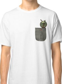 Whistling Rooster in Shades - Pocket Sized Classic T-Shirt