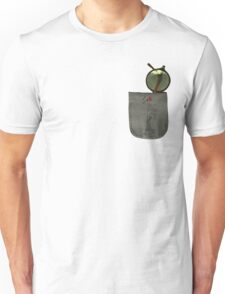 Whistling Rooster in Shades - Pocket Sized Unisex T-Shirt