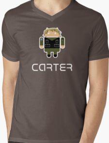 Droidarmy: Sam Carter SG-1 Mens V-Neck T-Shirt