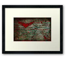 love inc. Framed Print