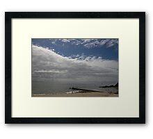 Forster beach Framed Print