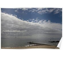 Forster beach Poster