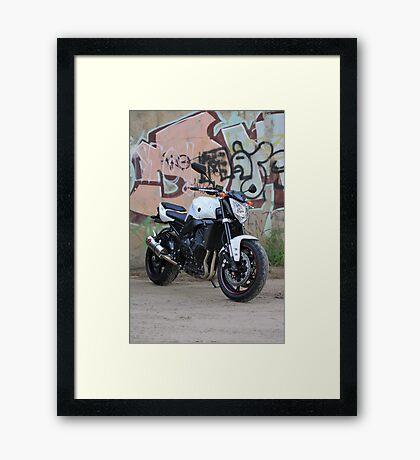 urban rider Framed Print