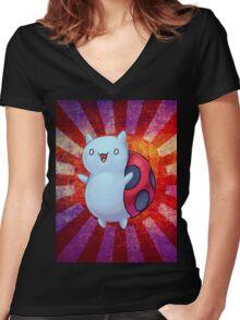 Catbug Parade Women's Fitted V-Neck T-Shirt
