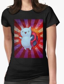 Catbug Parade Womens Fitted T-Shirt