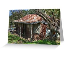 Hill End Hilton, Hill End, NSW, Australia Greeting Card