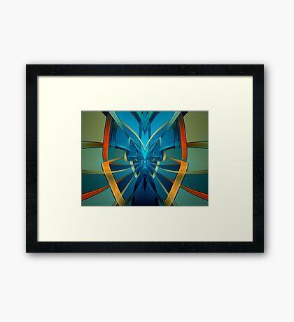Portal Butterfly Framed Print