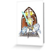 Norn Homestead Defender Greeting Card