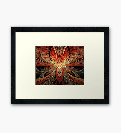 Ngon Portal Mural 4 Framed Print