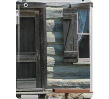 Door and Window in a Log Cabin iPad Case/Skin