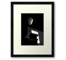 Pulpit Power Framed Print
