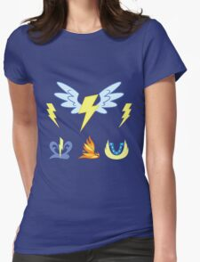 My little Pony - Wonderbolts Cutie Mark Special Womens Fitted T-Shirt
